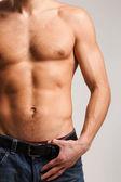 Masculine body — Stock Photo