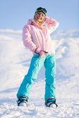 Winter sport — Stock Photo