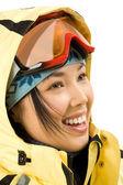 Profile of girl — Stock Photo