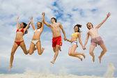 High jump — Stock Photo
