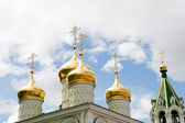 Golden domes — Stock Photo
