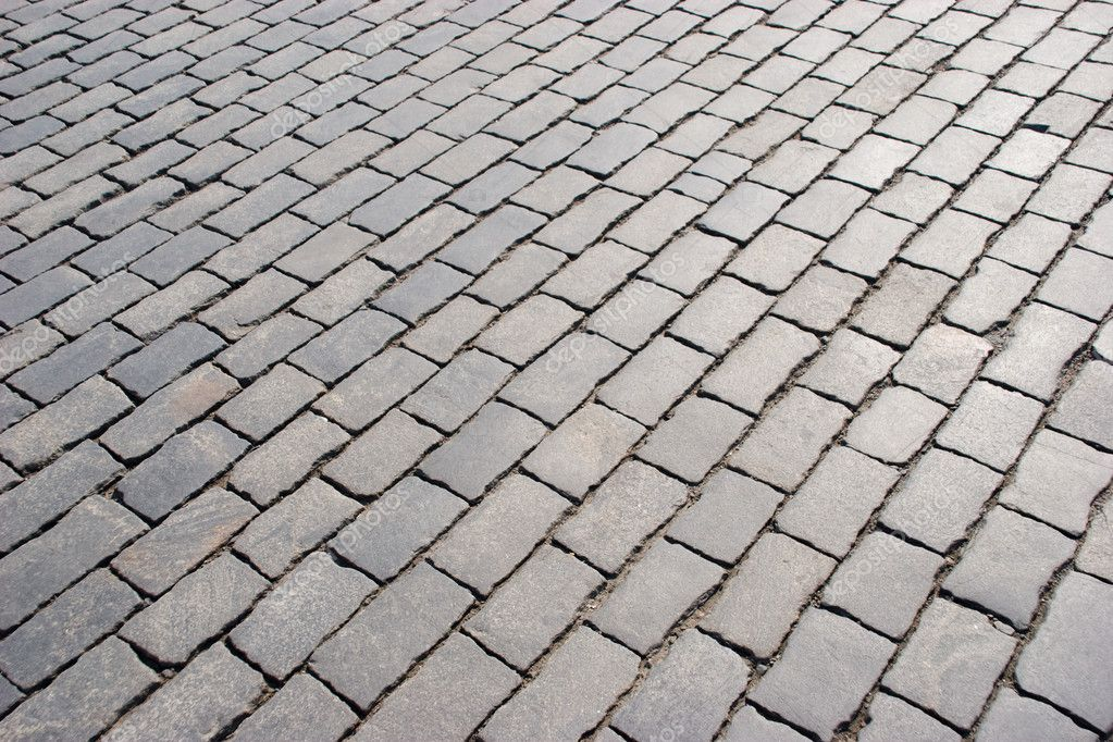 Background of grey stone pavement somewhere outside — Stock Photo #11215729