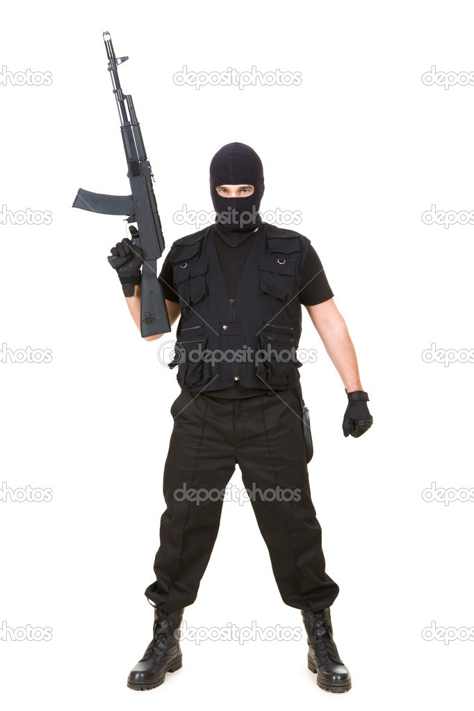 恐怖分子 — 图库照片08pressmaster#11216155图片