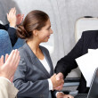 Business flight — Stock Photo