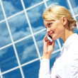 Business call - Stock Photo