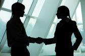 Making agreement — Stock Photo
