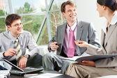 Conversa de trabalho — Fotografia Stock