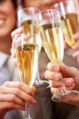 Toast for success — Stock Photo