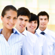 Leader of business team — Stock Photo #11310391