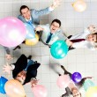 Balloon party — Stock Photo