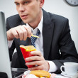 Fast food break — Stock Photo