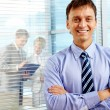 Happy boss — Stock Photo