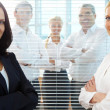 Successful businesswomen — Stock Photo