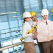 Architects at work — Stock Photo #11311965