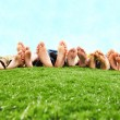 Resting on open air — Stock Photo