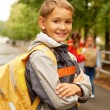 Going to school — Stock Photo