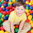 Royalty-Free Stock Photo: Boy and balls