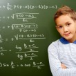 Young mathematic - Stock Photo