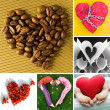 Heart shapes - Stock Photo