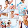 Stock Photo: Collage of medicine