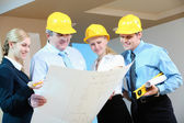 Worker group — Stock Photo