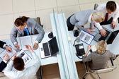 Empleados ocupados — Foto de Stock