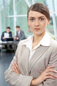 Business leader — Stock Photo