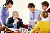 Reunión informativa — Foto de Stock