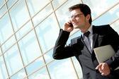 Belangrijk telefoontje — Stockfoto
