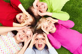 Funny kids — Foto Stock
