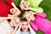 Niños graciosos — Foto de Stock