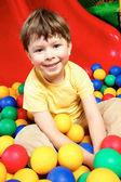 Boy v koule — Stock fotografie