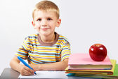 Diligent boy — Stock Photo