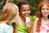 Healthy children — Stock Photo