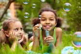 Bubble fun — Stock Photo