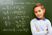 Young mathematic — Stock Photo