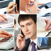 Business and objects — Stock Photo