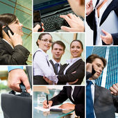 Business and technology — Stock Photo