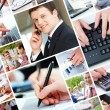 Modern business — Stock Photo