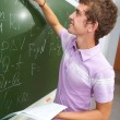 Checking homework - Stock Photo