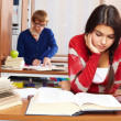 Students in library — Stock Photo #11335475