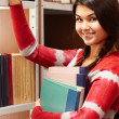 Student in library — Stock Photo #11335480
