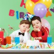 Royalty-Free Stock Photo: Boring birthday