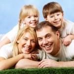 Joyful family — Stock Photo #11335622