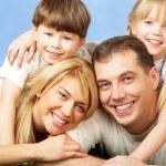 Joyful family — Stock Photo #11335625