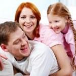 Happy family — Stock Photo #11335665