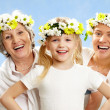 Feminine ages — Stock Photo
