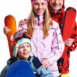 Royalty-Free Stock Photo: Snowboarders