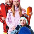 Snowboarders — Stock Photo #11336551