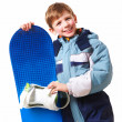 Stock Photo: Youthful skateboarder
